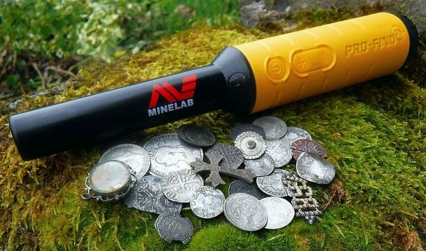 Minelab Pro-Find 35 Pinpointer (Wasserdich bis 3m)