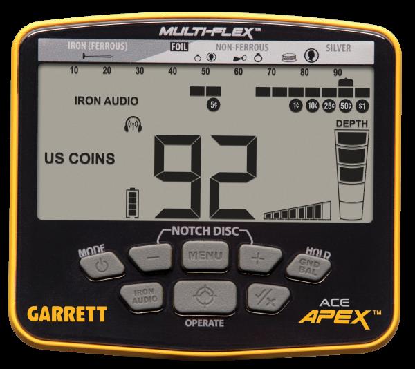 Display Garrett ACE Apex