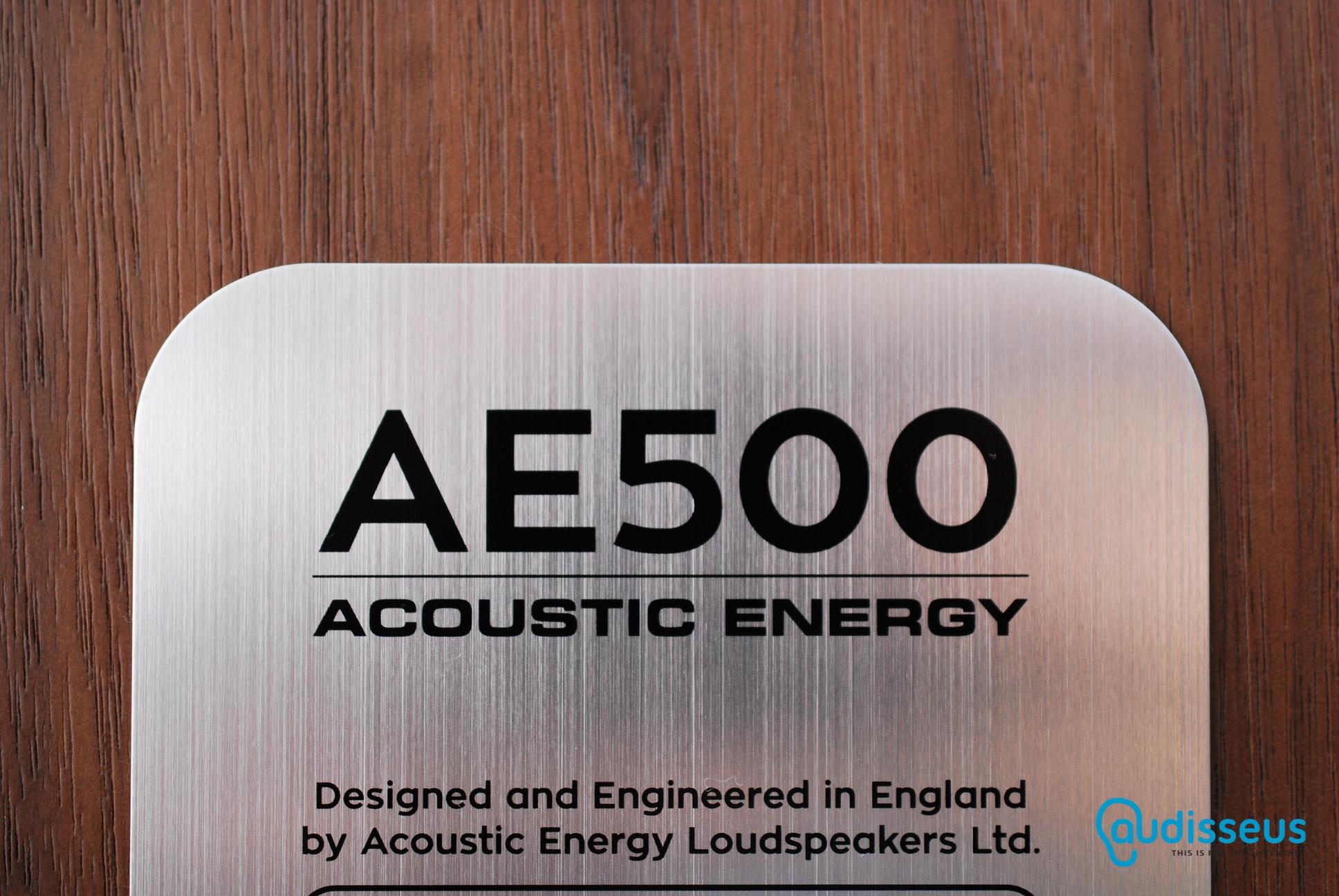 Acoustic Energy AE500 / www.audisseus.de / Foto: F. Schwertfeger