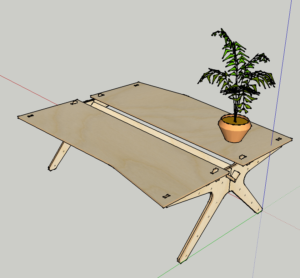 Opendesk is an initiative to produce furniture according to the principles of open making.