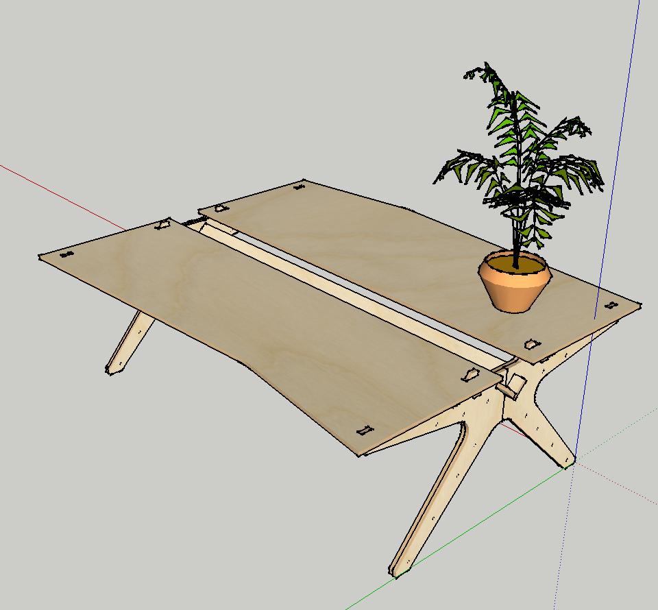 Opendesk ist eine Initiative zur Herstellung von Möbeln nach den Prinzipien des Open Making.