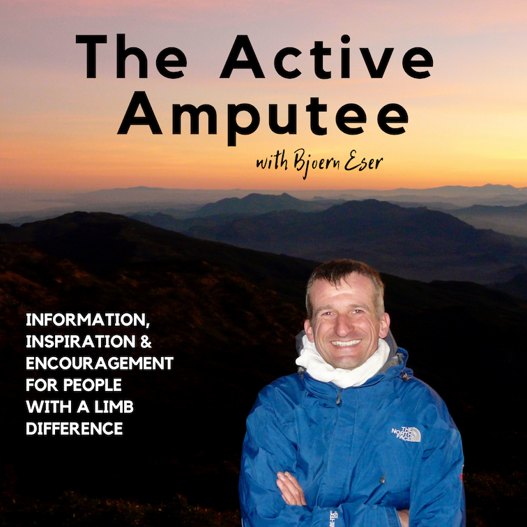 Now up on iTunes, Spotify and co - The Active Amputee Podcast