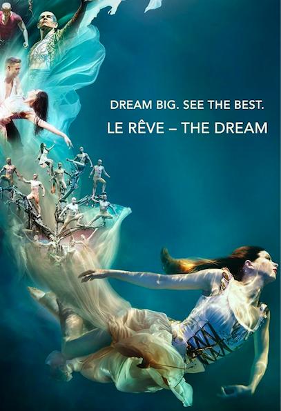 Le Rêve the Dream Poster in Las Vegas