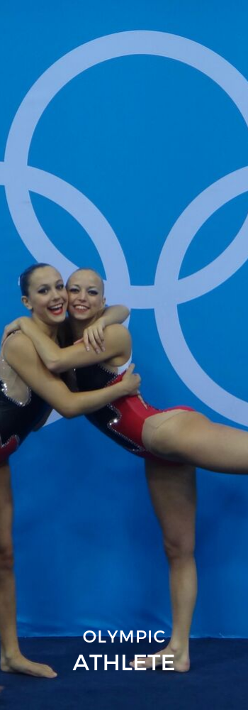 Olympic Games 2012 London Synchronized Swimming Nadine Brandl & Livia Lang Duet