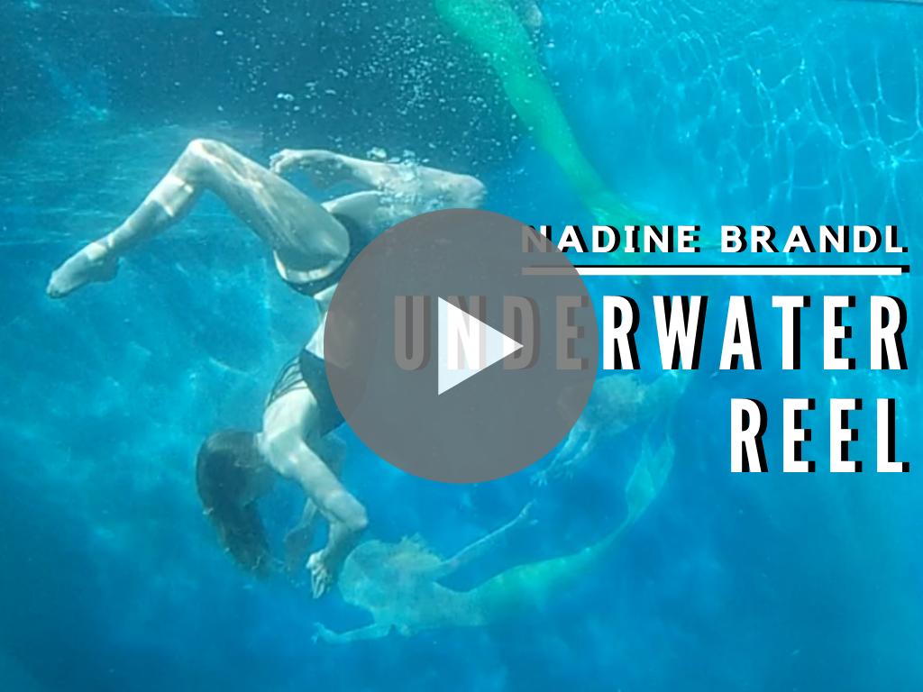 Nadine Brandl Underwater Stunt Reel