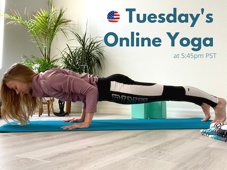 Yoga With Nadine Brandl in English