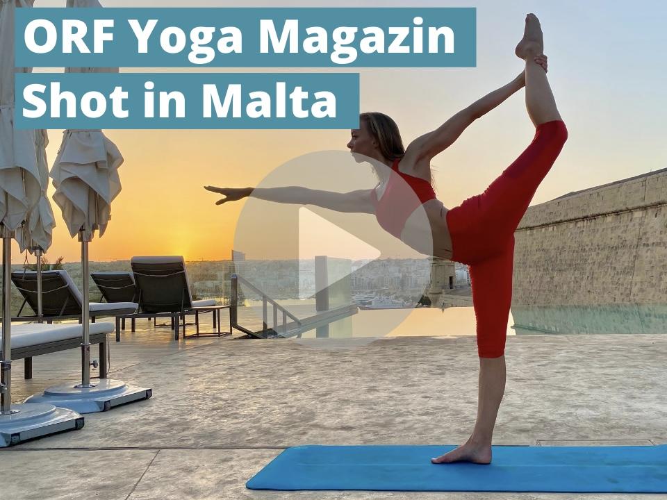 Nadine Brandl Yoga Magazin Malta