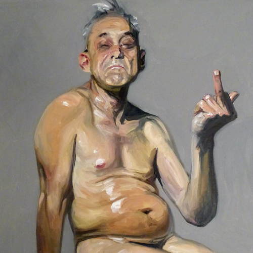 begrüssung · 50 x 40 cm · 2014
