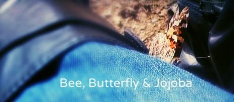 ♡ BUTTERFLY (American Lady) & JOJOBA