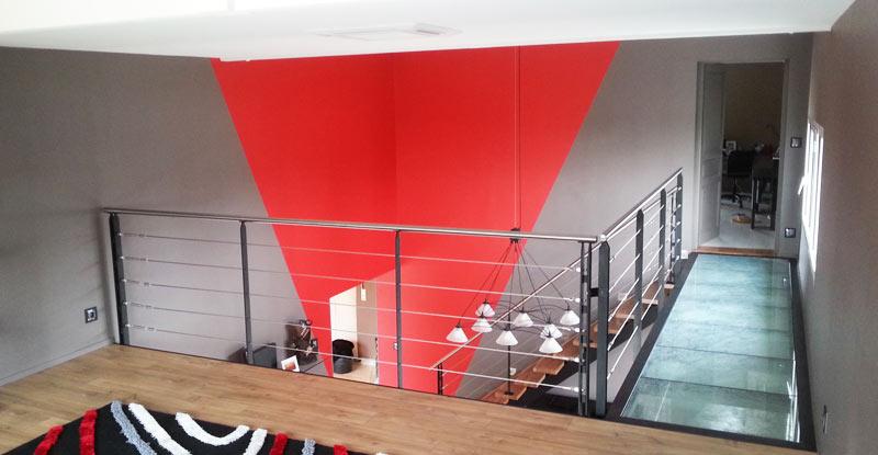 garde corps de mezzanine design