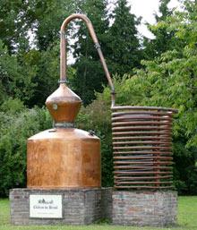 Alambic en cuivre GEIMDOR - reprise par DEFI INDUSTRIES en Lot-et-Garonne