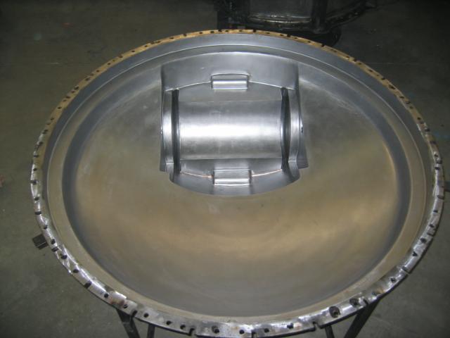 couvercle à trappe pour conteneur acier 30/10