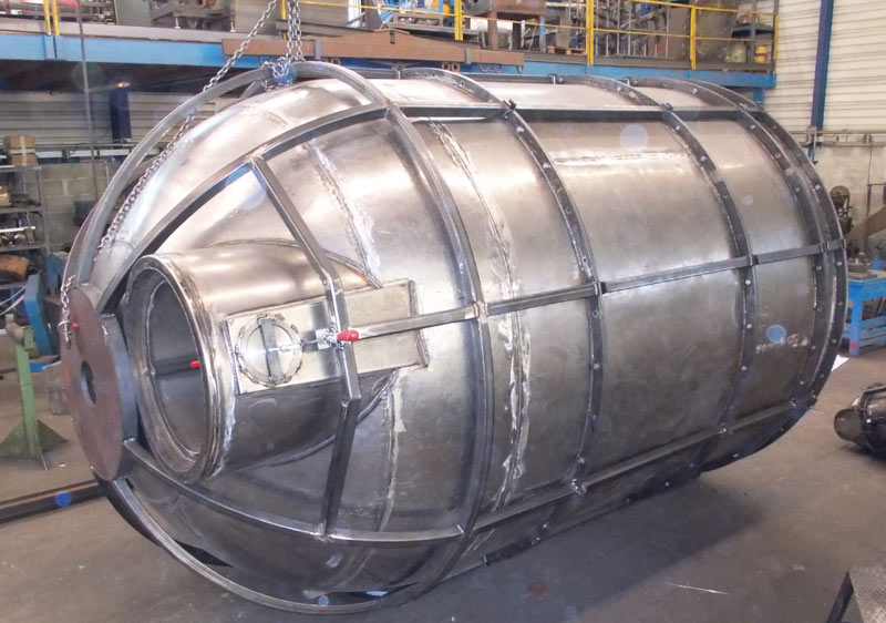 cuve 10000 litres acier 30/10