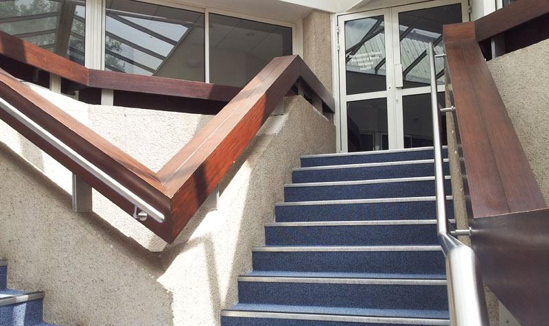 Escalier de la CCI à Agen