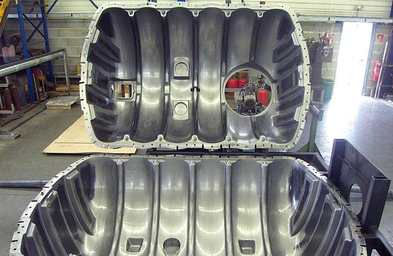 cuve 2500 litres acier 30/10