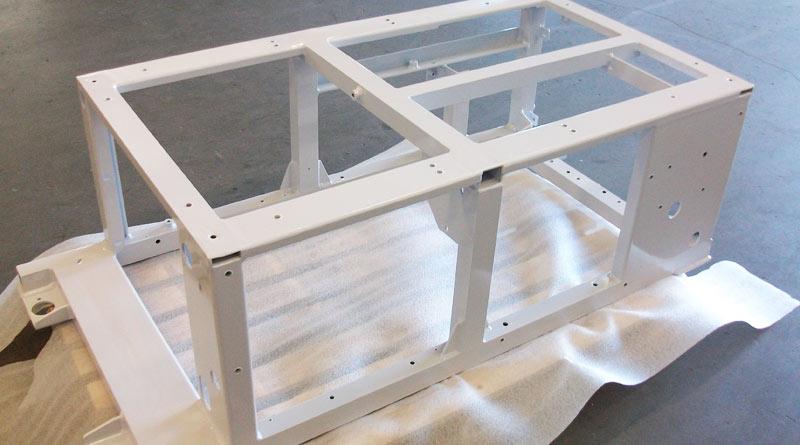 structure en aluminium