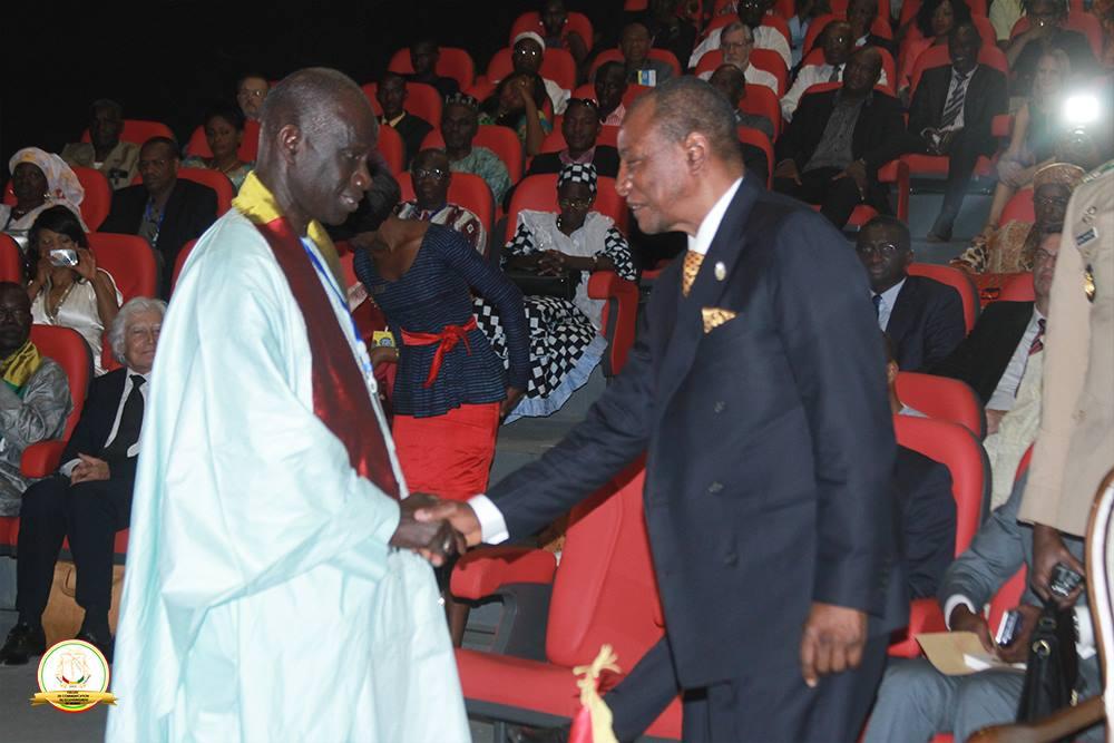 Begrüßung des Partner Senegal, Präsident Macky Sall