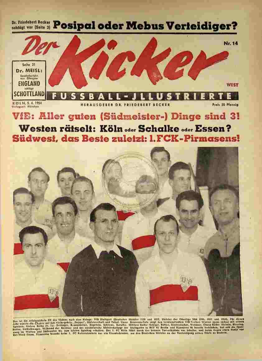 1954 April 5. Kicker Nr.14