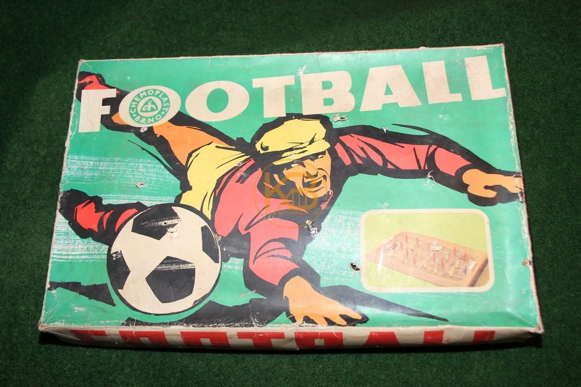 Altes Brettspiel Football der Firma Chemoplast ca. aus den 1960ern.