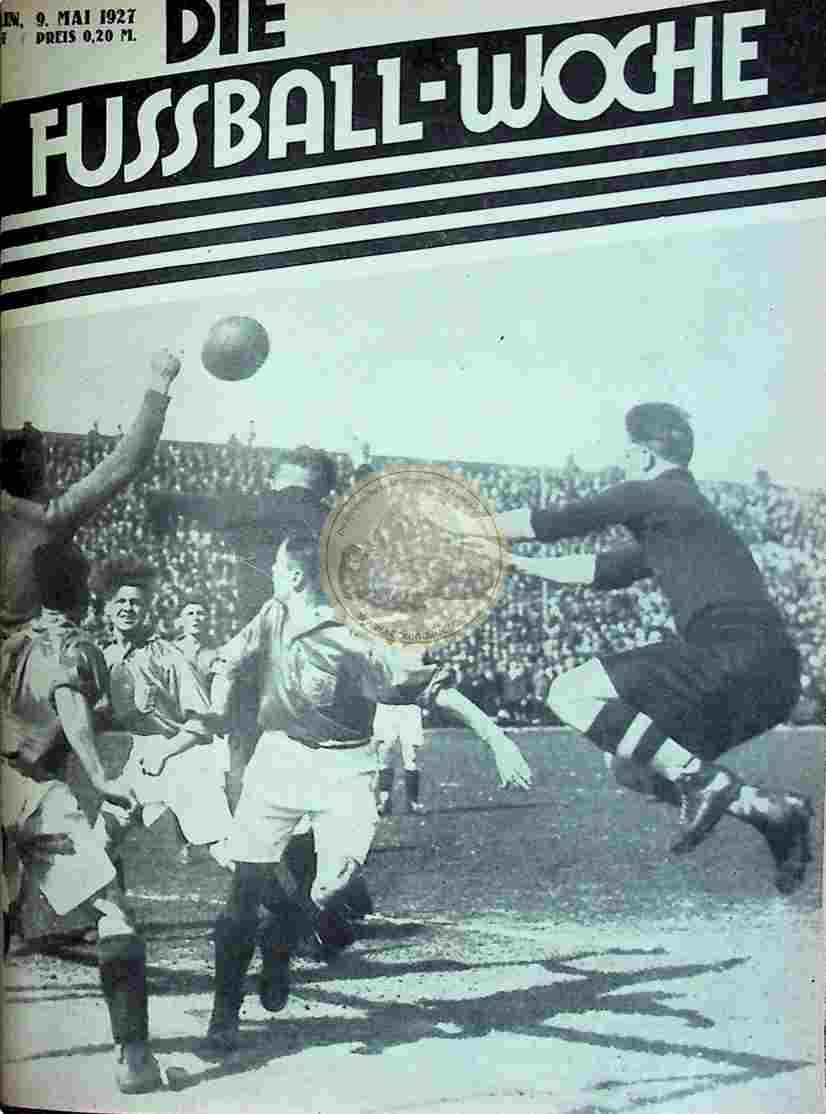 1927 Mai 9. Fussball-Woche Nr. 37
