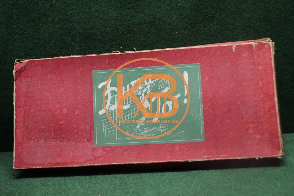 Altes Tischfußballspiel aus den 1930ern Hurra Tor
