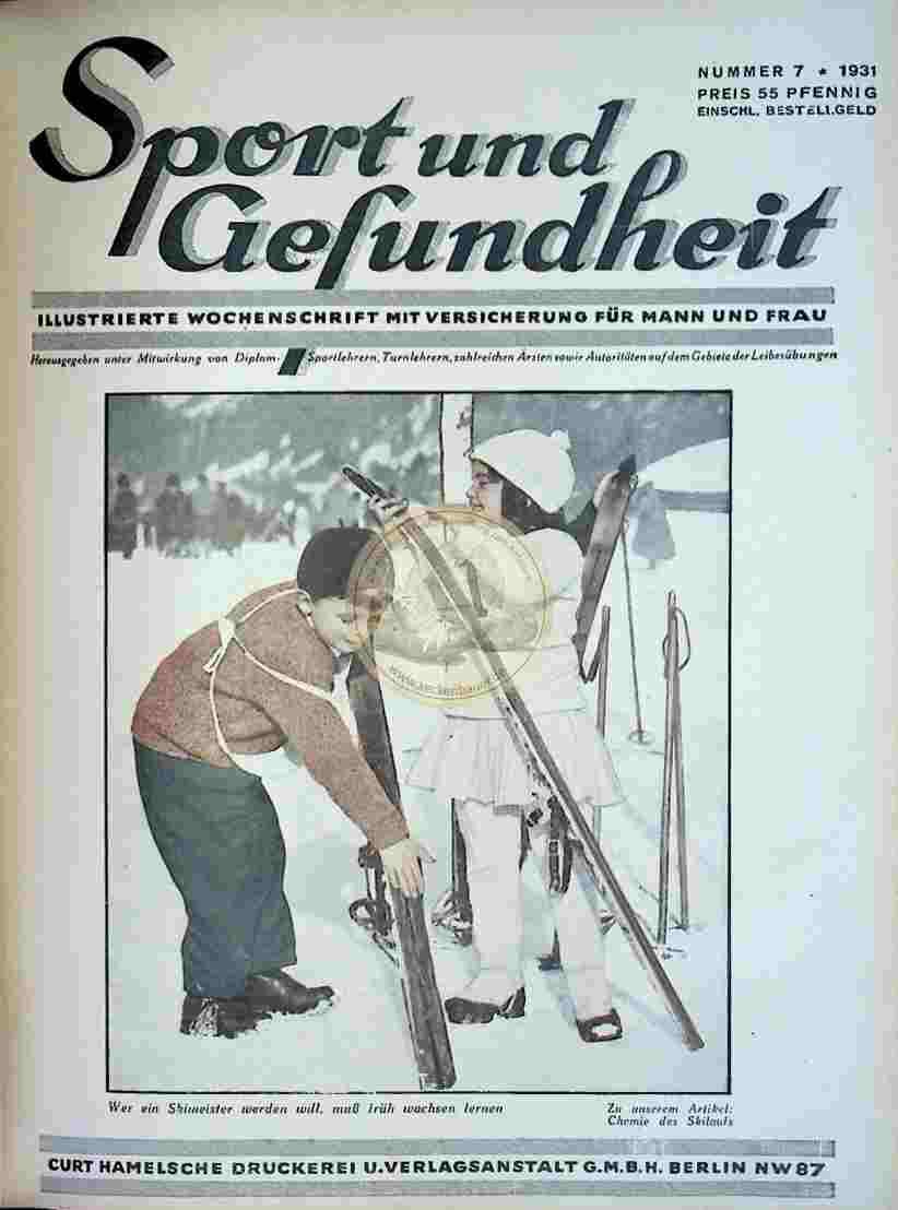 1931 Sport und Gesundheit Nr.7