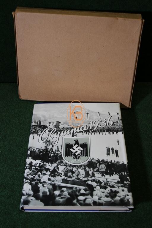 Buch zur Olympiade 1936 in Berlin im original Schober