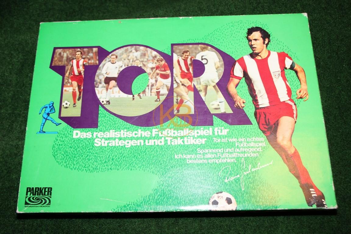 """Altes Brettspiel """"Tor"""" von Parker aus den 1970ern."""