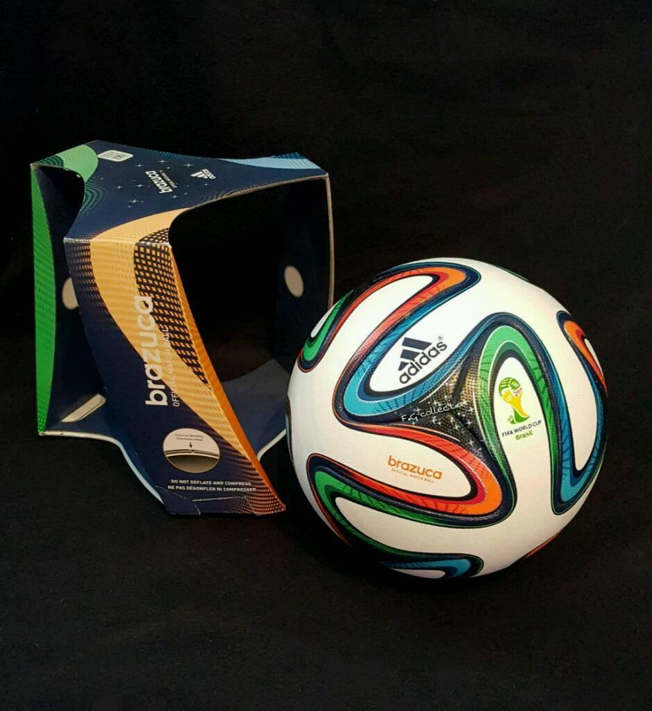 ADIDAS Brazuca der offizielle Spielball von der WM 20140 in Brasilien mit Originalverpackung.