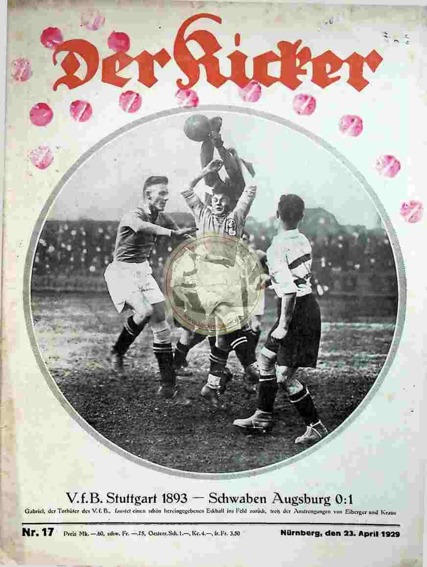 1929 April 23. Kicker Nr. 17