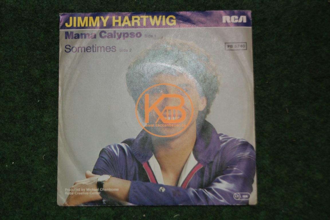 Fußball-Single Mama Calypso von Jimmy Hartwig