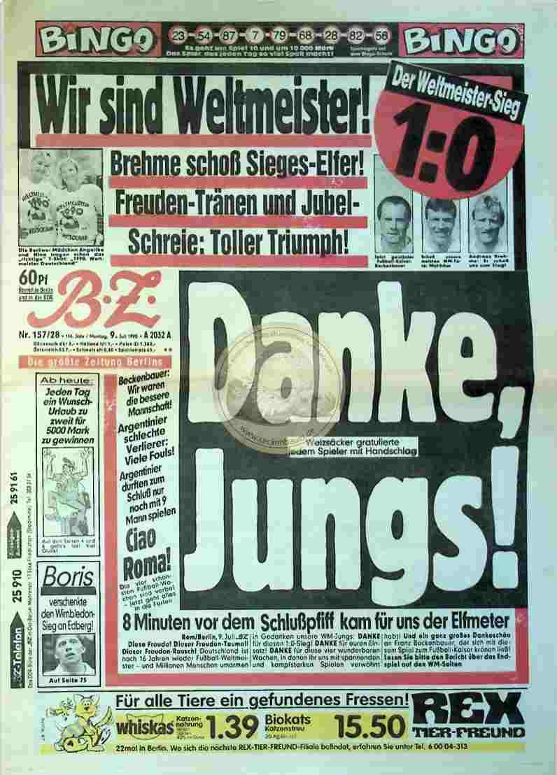 1990 Juli 9. BZ