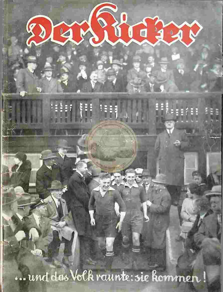 1929 April 16. Kicker Nr. 16