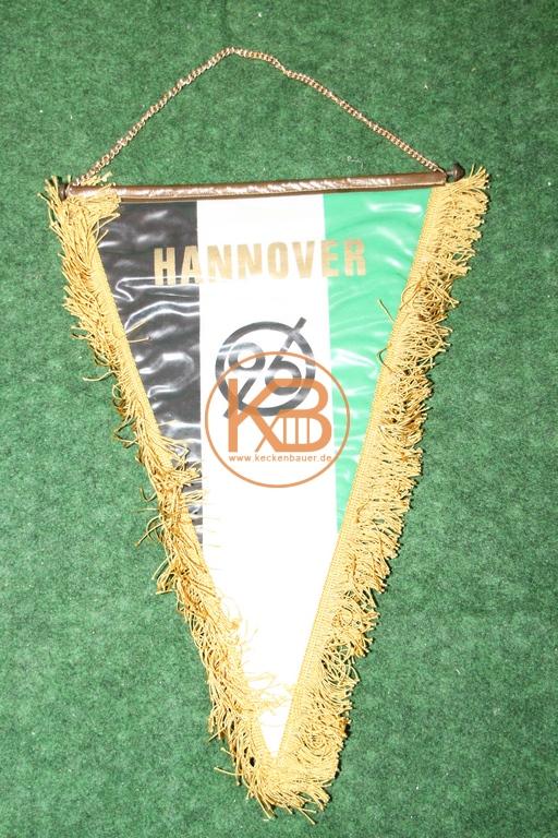 Hannover 96 Wimpel aus den 1970ern.