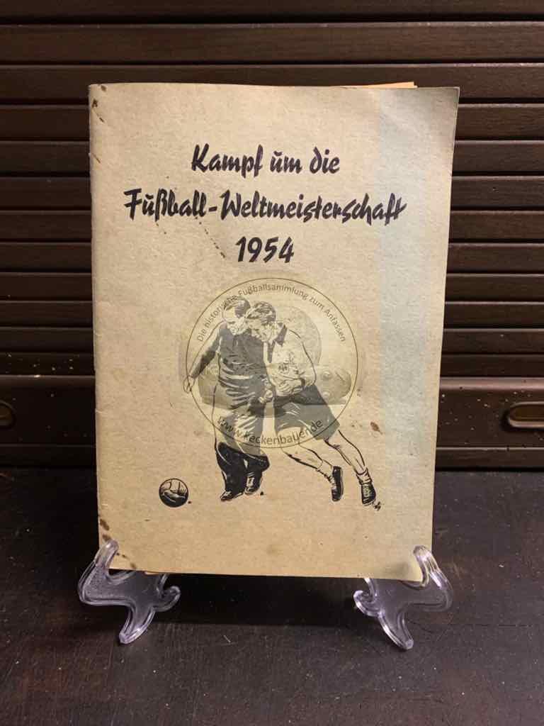 Sammelheft Kampf um die Fußball Weltmeisterschaft 1954