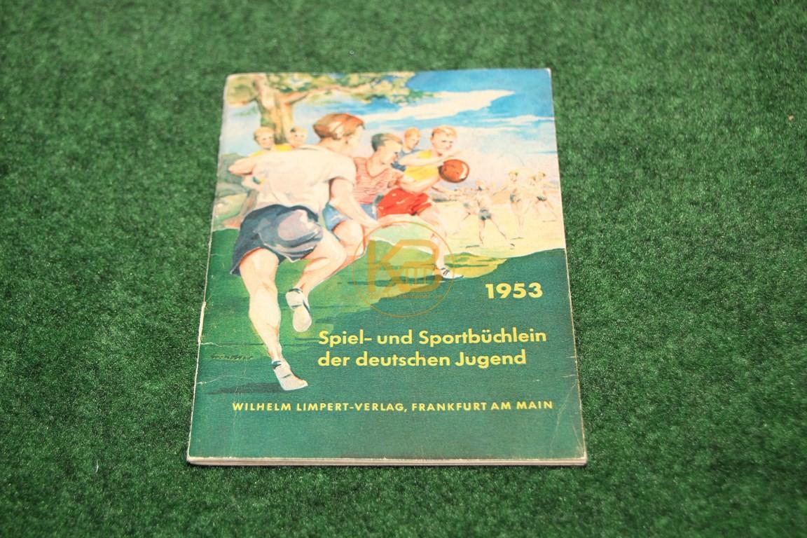 1953 Spiel- und Sportbüchlein der deutschen Jugend vom Wilhelm Limpert-Verlag