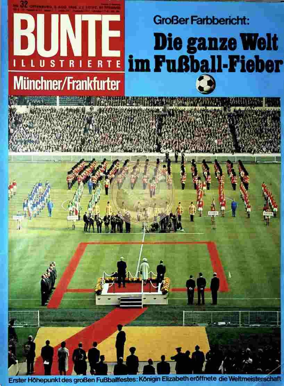 1966 August 3. Bunte Nr.32