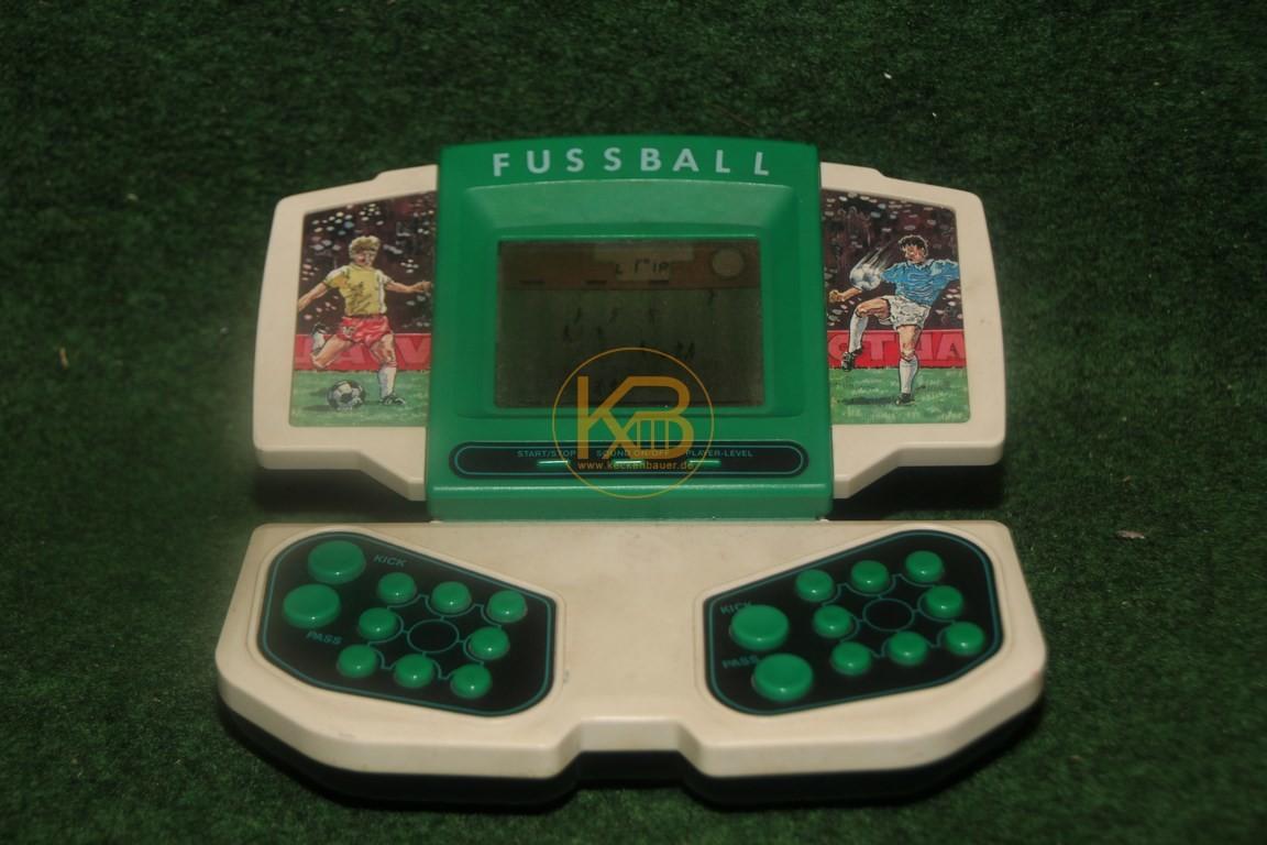 Alter Fussball Taschencomputer.