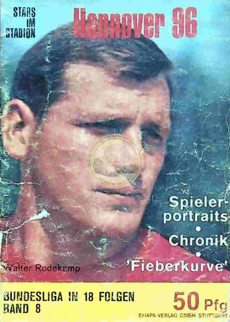 1966 Stars im Stadion Hannover