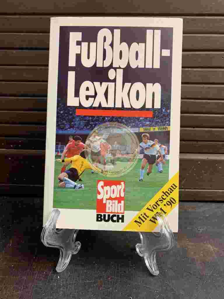 Sportbild Buch Fussball Lexikon aus dem Jahr 1990