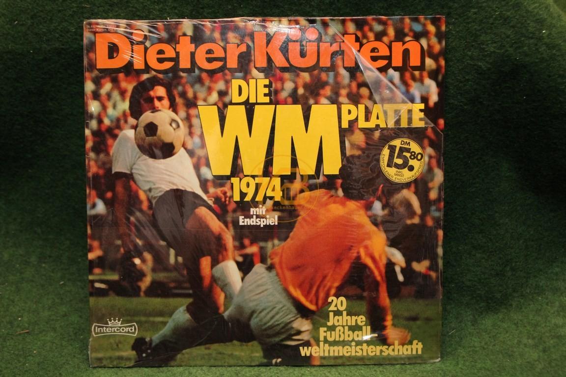 Platte Dieter Kürten Die WM PLatte 1974 mit Endspiel