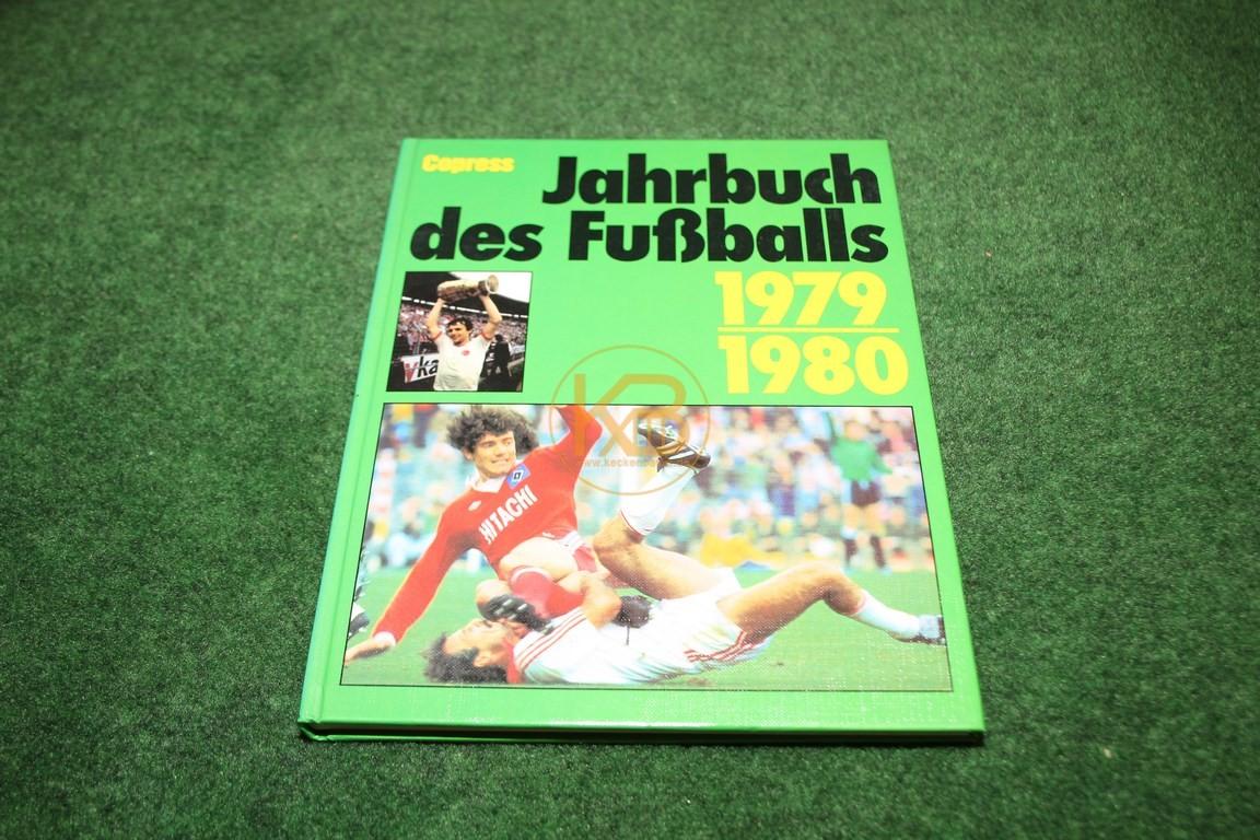 Jahrbuch des Fußballs 1979/1980 vom Copress Verlag.