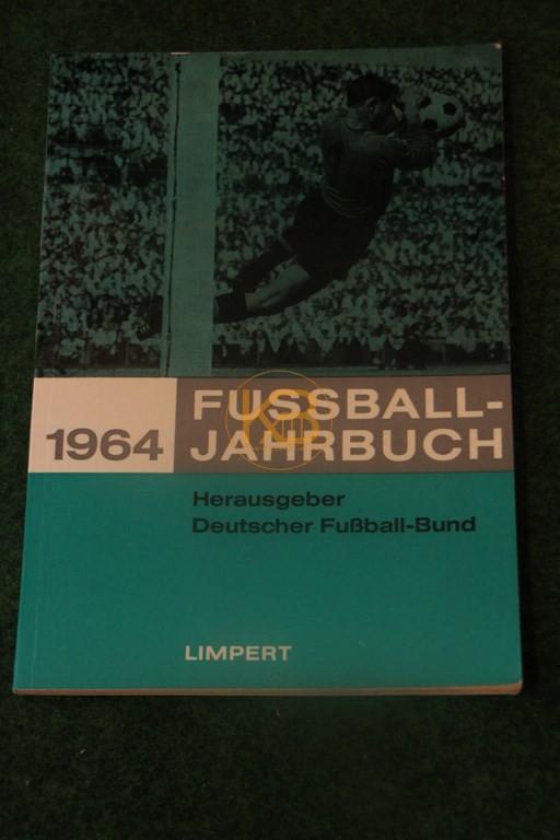 Fußball Jahrbuch 1964.