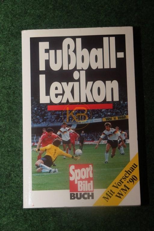 Fußball Lexikon mit Vorschau WM ´90 ein Sport Bild Buch