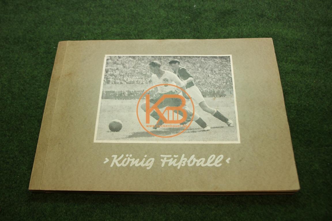 König Fußball Greiling Sammelalbum komplett aus dem Jahr 1950/51