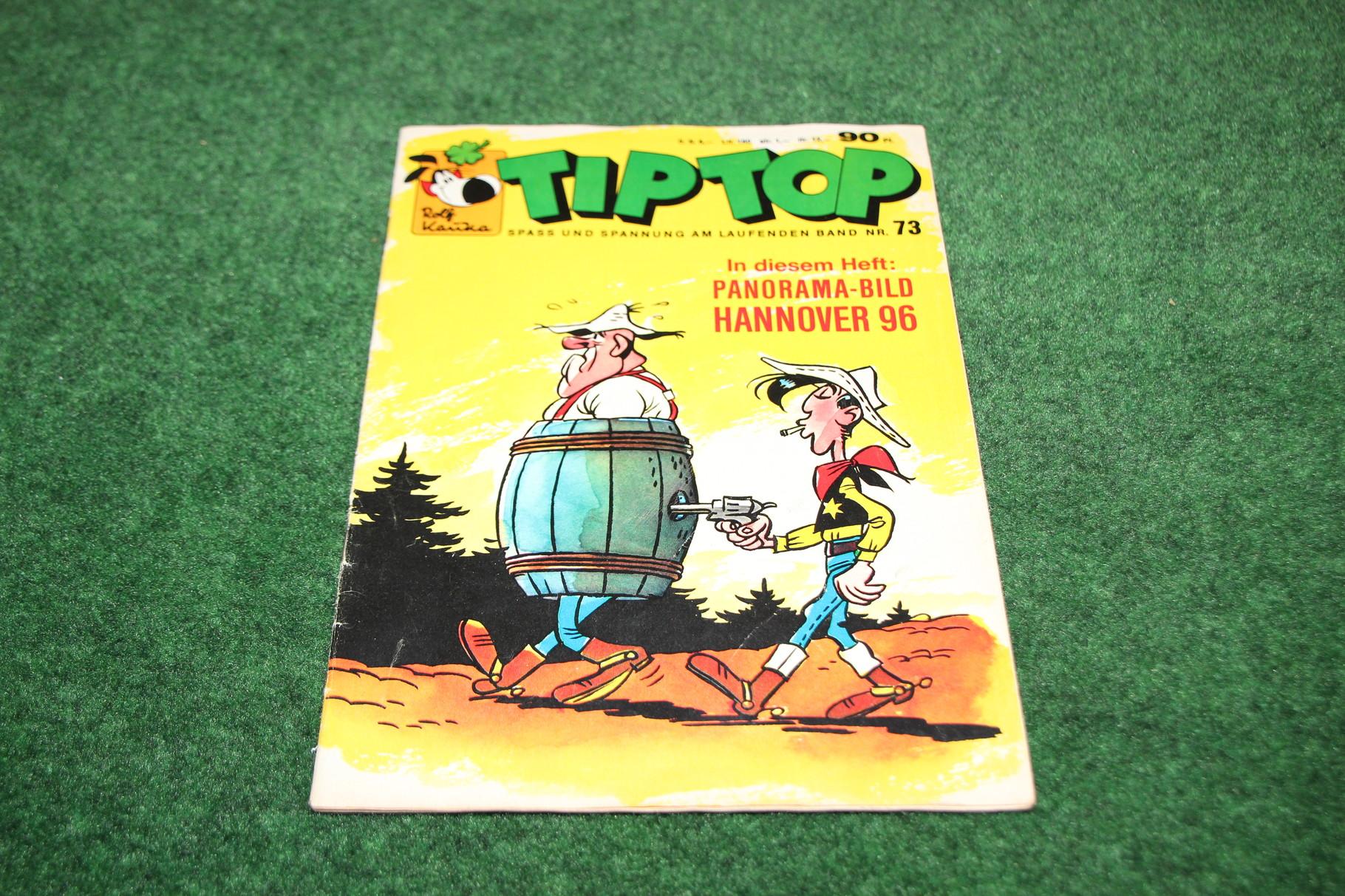 Kinderzeitschrift TIP TOP mit dem Panorama-Bild von Hannover 96.