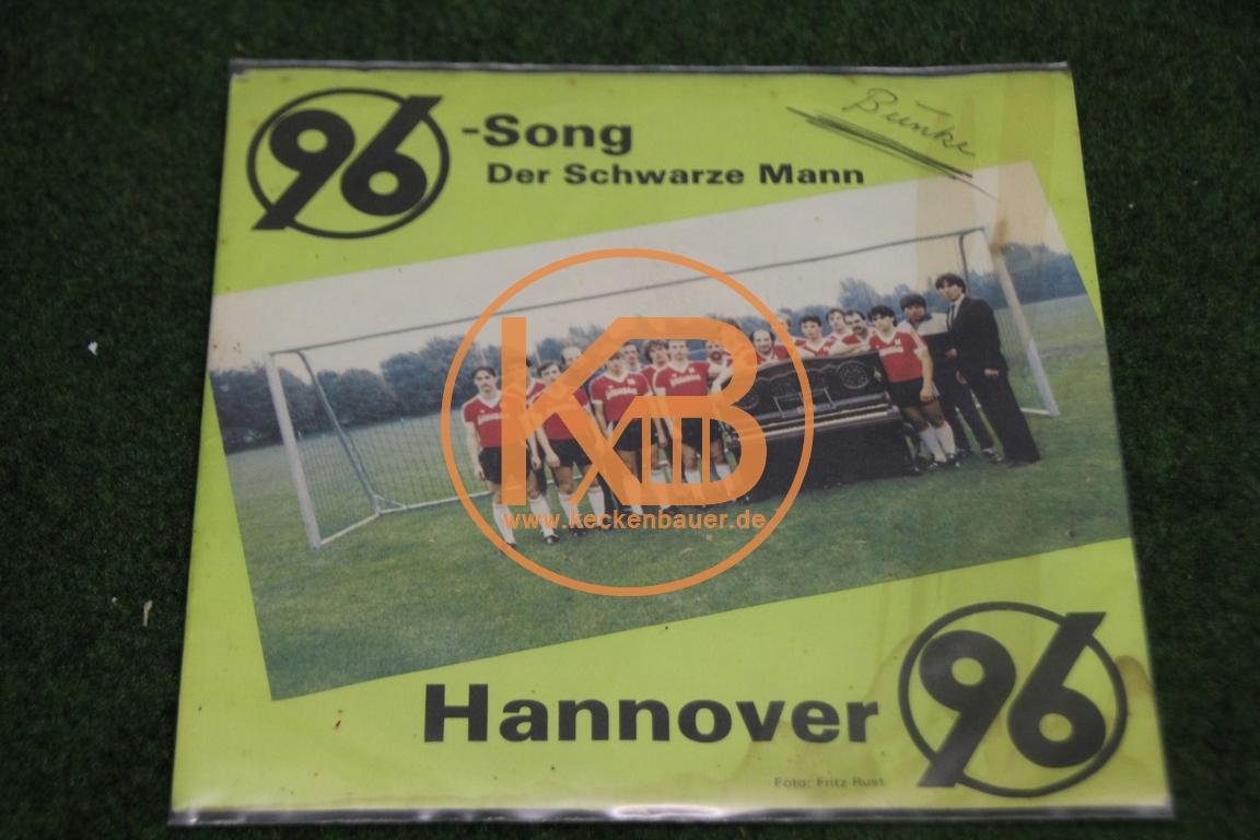 """Platte von Hannover 96 mit dem 96 Song und """"Der Schwarze Mann"""" 1/2"""