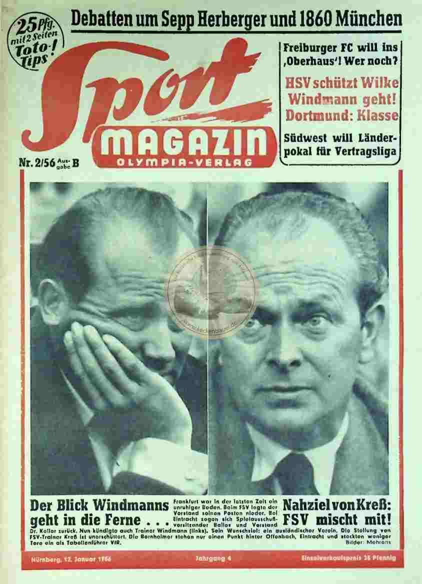 1956 Januar 12. Sport Magazin Nr. 2