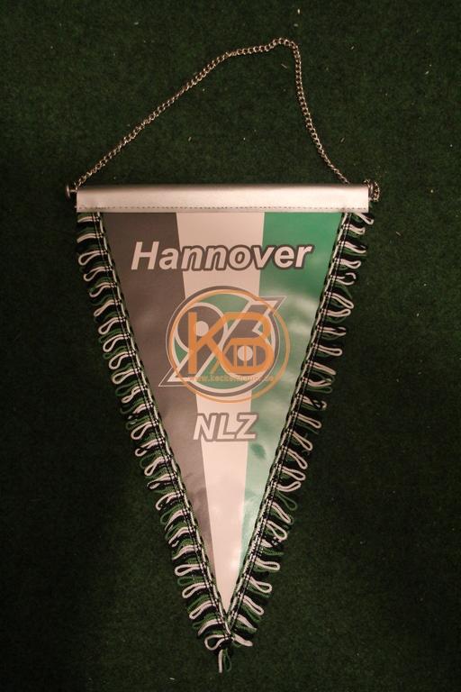 Wimpel Hannover 96 Nachwuchsleistungszentrum.
