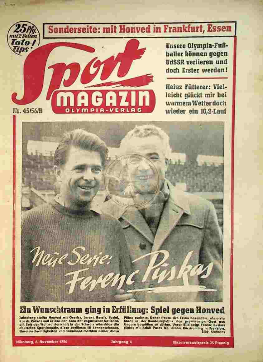 1956 November 08. Sport Magazin Nr.45